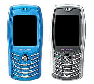 HTG-668 - мобильный телефон Hitachi с начинкой от Siemens