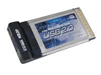 Компанией ATEN выпущена PCMCIA-карта с двумя USB-портами.