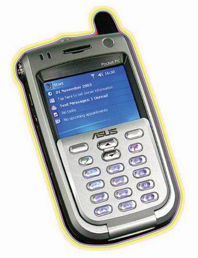 Asus демонстрирует новые Pocket PC и Pocket PC Phone