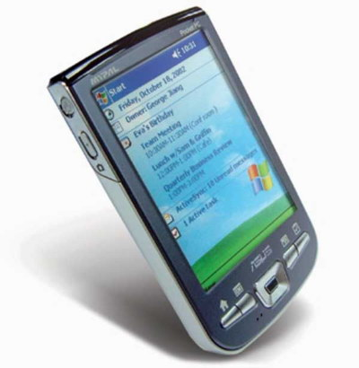 Asus ������������� ����� Pocket PC � Pocket PC Phone