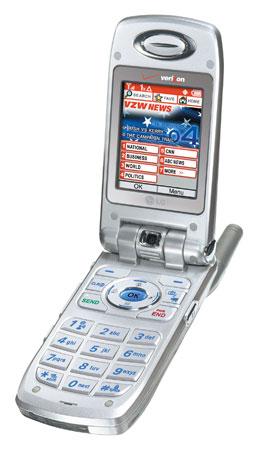 ������� LG VX7000 � ���������� ��������������