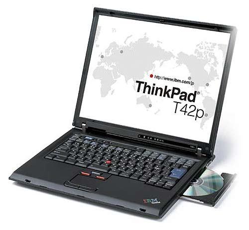 ������� T42p �� ���� Intel 855PM � Pentium M 755 � �������