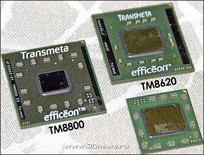 ����������� Sharp �� ���� Transmeta Efficeon TM8800