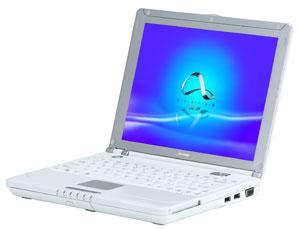 Sharp  Actius MP30: ����� ���������������� ������� �� ���� Efficeon TM8800