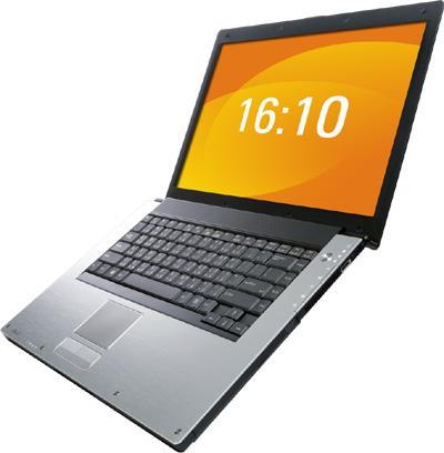 ASUS W1Na, широкоэкранный ноутбук с ТВ-тюнером