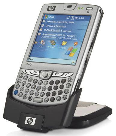 HP iPAQ hw6500: ����������� ������������ � ���������� EDGE