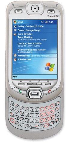 ����������� � ��������� Audiovox 6600 Pocket PC