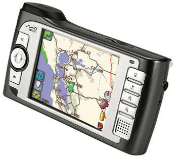 Mio 269 — компактный GPS-навигатор с плеером
