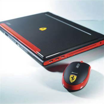 Acer заключила Ferrari 4000 в суперпрочный корпус