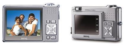 Benq использует объектив Pentax в новых фотокамерах E510 и E520