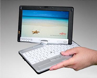 Fujitsu LifeBook P5100 - миниатюрный планшетный ноутбук с биометрической защитой