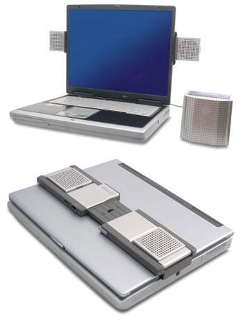 Digital Image предлагает новые складывающиеся колонки для ноутбуков