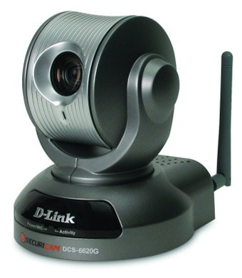 D-Link SECURICAM DCS-6620G – беспроводный «большой брат» для дома или офиса
