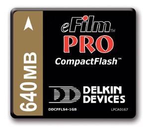 Delkin предлагает сверхбыстрый CompactFlash
