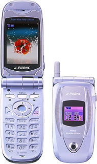 Два новых сотовых видеотелефона из Японии