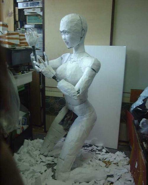 Как сделать манекен человека