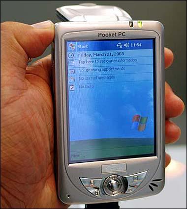 Computex 2003 - ����� Pocket PC �� MiTAC