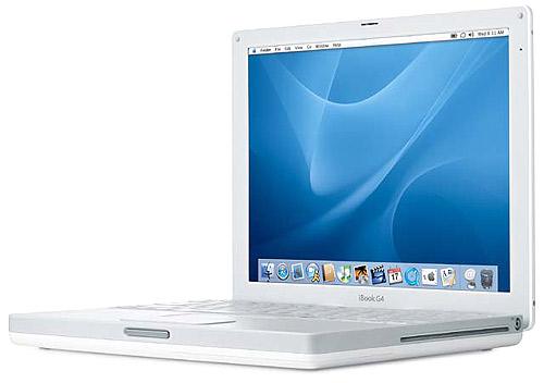 ����������� ������ iBook G4 �� Apple
