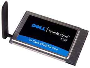 Dell ��������� TrueMobile 5100 GPRS PC Card