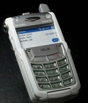 ����� ������� PDA �� Asus