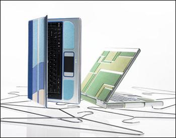Intel & Toray Ultrasuede Concept Laptop