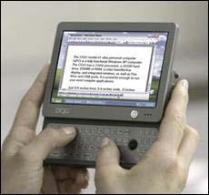 OQO Tablet PC Edition of the Model 01+