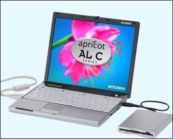 Mitsubishi Apricot AL C Series Laptop