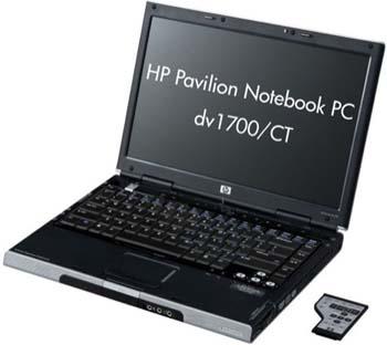 HP Pavilion DV1700