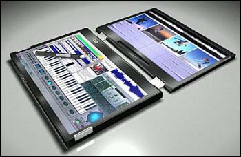 Canova Dual Display Touch Screen Notebook Concept p2