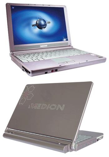 Medion Swarovski Notebook MD95977