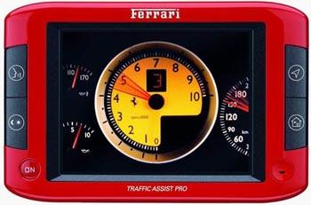 GPS-������� ��� ������� Ferrari