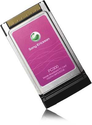 Sony Ericsson PC300 Mobile Broadband PC Card