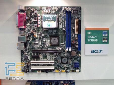 �������� Acer �� ���� ������ SiS671 + SiS968 ��� ����������� AMD