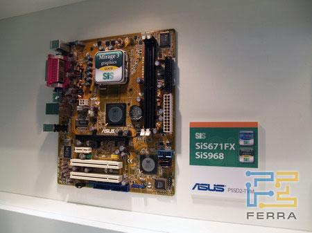 �������� ASUS �� ���� ������ SiS671FX + SiS968 ��� ����������� AMD