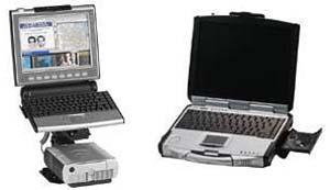 Motorola MW810 Mobile Workstation and Motorola ML910 Rugged Notebook