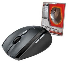 Trust Wireless Laser Mini Mouse MI-7600Rp