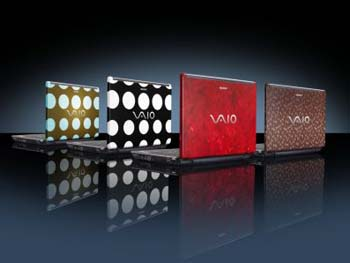 Sony VAIO C Series 'Graphic Splash Editions'