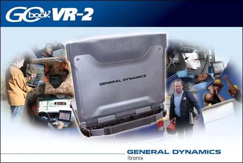 General Dynamics GoBook VR-2