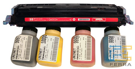 Принтер HP: Ресурс картриджей