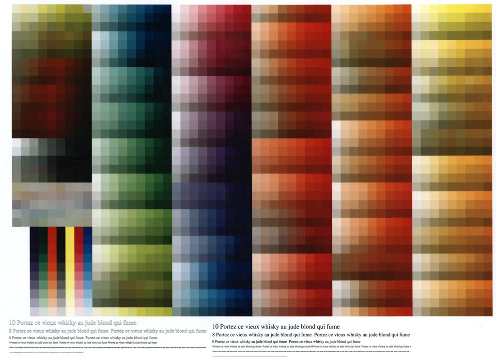 Таблица цветов для печати cmyk