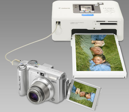 Canon SELPHY CP720: внешний вид 1
