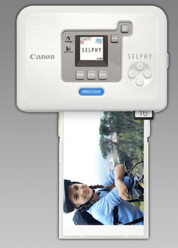 Canon SELPHY CP720: внешний вид 2