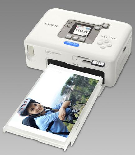 Canon SELPHY CP720: внешний вид 4