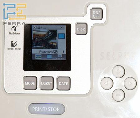 Canon SELPHY CP720: внешний вид 5