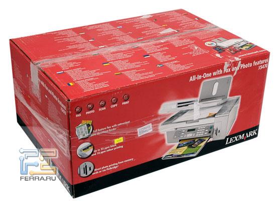 Коробка с МФУ Lexmark X5470