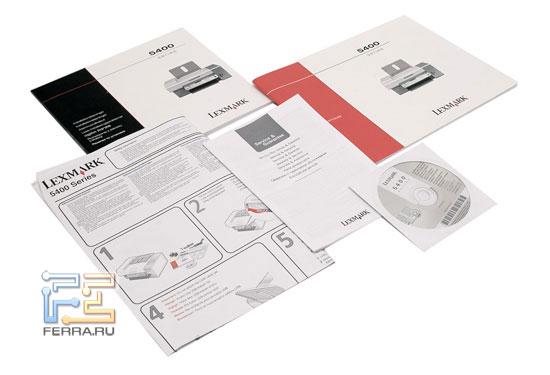 МФУ Lexmark X5470: руководства и компакт-диск