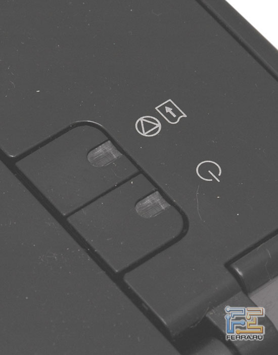 iP1800: кнопки
