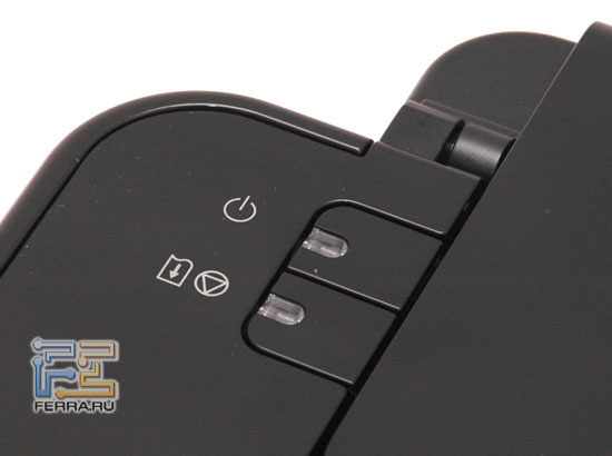 iP2500: кнопки