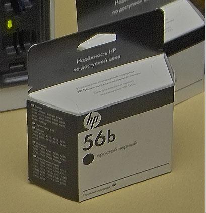 Картридж C6656B, он же HP56b