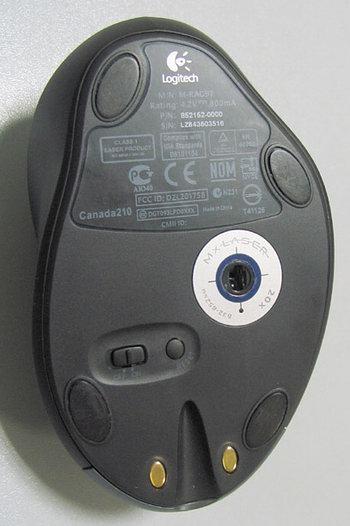 Logitech MX1000 - нижняя часть